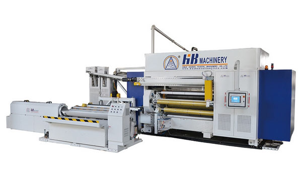 1500-2100mm PVC Cling Film Line (4-Shaft Winder)