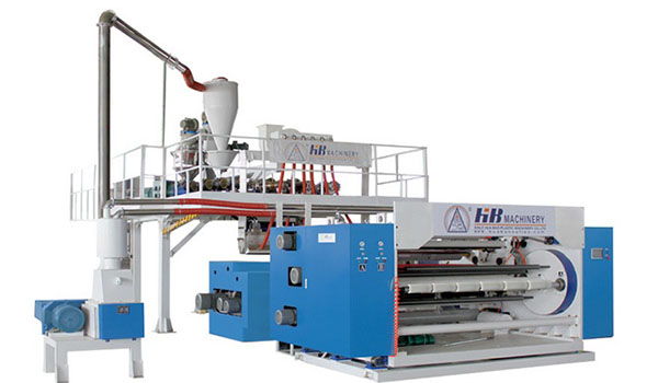 5-Layer PE Cling Film Line (2 Winding Shafts)