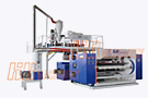 Five-layer Co-extrusion PE Food Wrap Extrusion Line with Double Shaft Winder